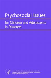 Psychosocial Issues For Children And Adolescents In