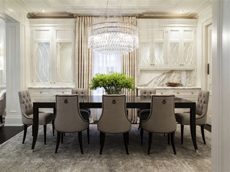 Traditional Dining Tables And Chairs Tufted Baker Dining