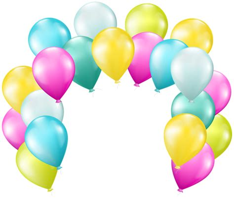 Balloons Arch PNG Transparent Clip Art Image Gallery