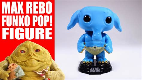max rebo funko pop figure review specialty series