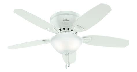 hunter louden ceiling fan 46 quot brushed nickel chrome ceiling fan louden low profile