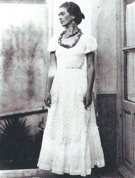 Wedding Dress Frida Kahlo In Wonderful Eyelet Dress