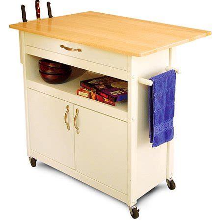 walmart kitchen cart drop leaf utility cart white walmart