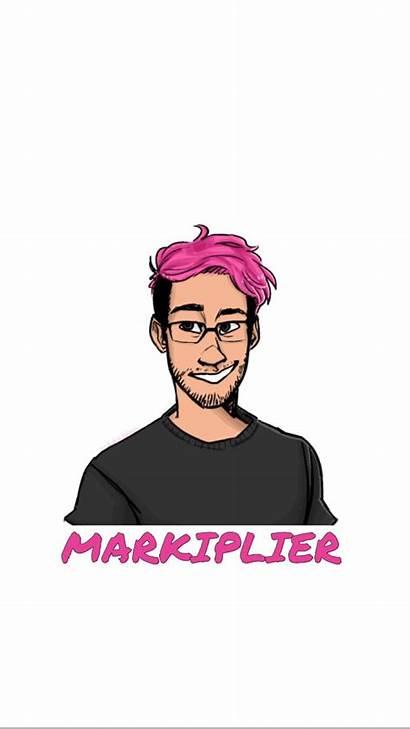 Markiplier Wallpapers Iphone Jacksepticeye Background Youtubers Illustration