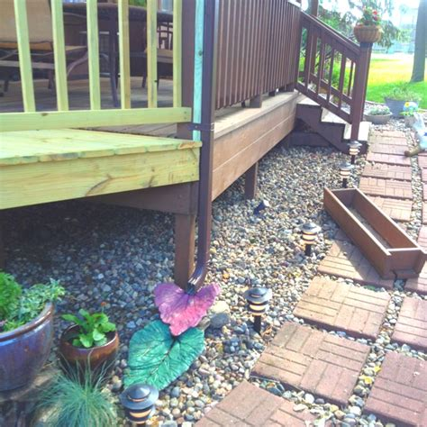 decorative gutter downspout extensions pin by orendia wassom on concrete