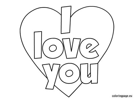 valentines day  love  coloring page coloring page