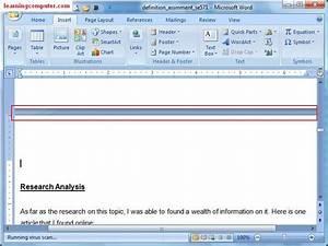 Microsoft Word  U2013 Insert Tab  U2013 It Computer Training