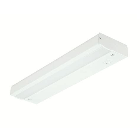 commercial electric 12 in white led direct wire