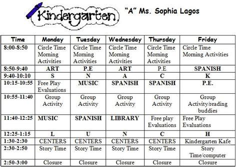 welcome to kindergarten kindergarten syllabus 462 | kinderAschedule