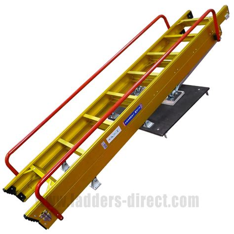attic access ladder clow heavy duty sliding loft ladder ladders direct com