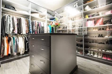 calabasas his and hers walk in closets modern closet