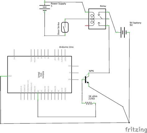 Problem With Connecting The Arduino Electric Door
