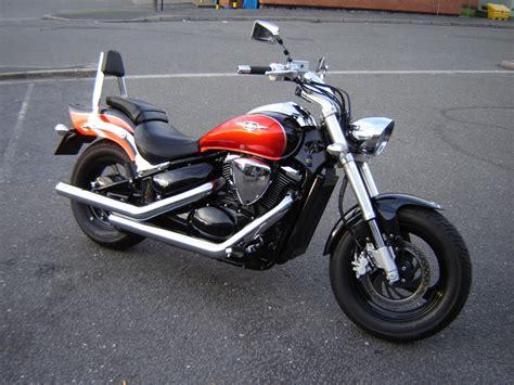 suzuki m800 vz800 exhaust m50 marauder 800 hardkrome 3 quot staggered straights d46 6809b
