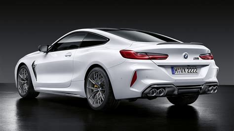 Bmw M8 M Performance Parts 2019 bmw m8 coupe competition with m performance parts