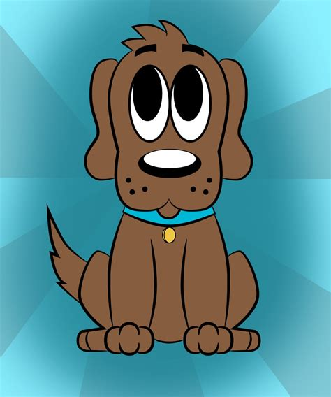 draw  cartoon dog draw central