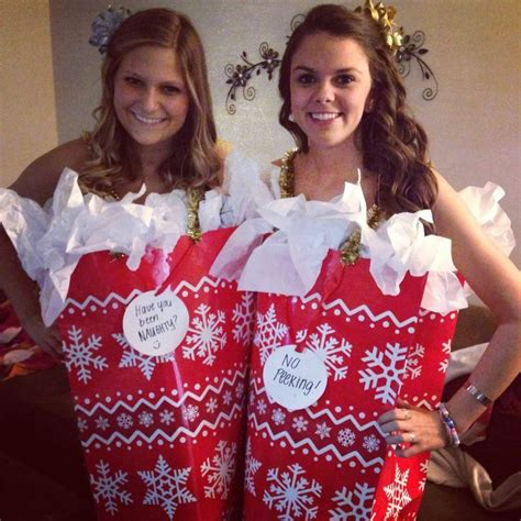 dress up ideas for christmas gift bag costume gifts costumes and gift