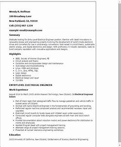 professional entry level electrical engineer templates to With electrical engineer resume