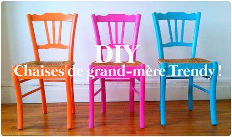 repeindre des chaises en bois repeindre des chaises