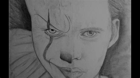 Quick Sketching Featuring Pennywise 'it' (reboot 2017