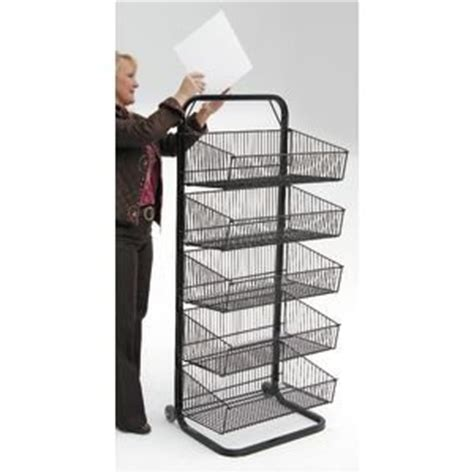 wire display racks wire display racks with five baskets with