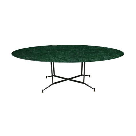 lada verde da tavolo tavolo da pranzo in marmo verde india anni 50 in