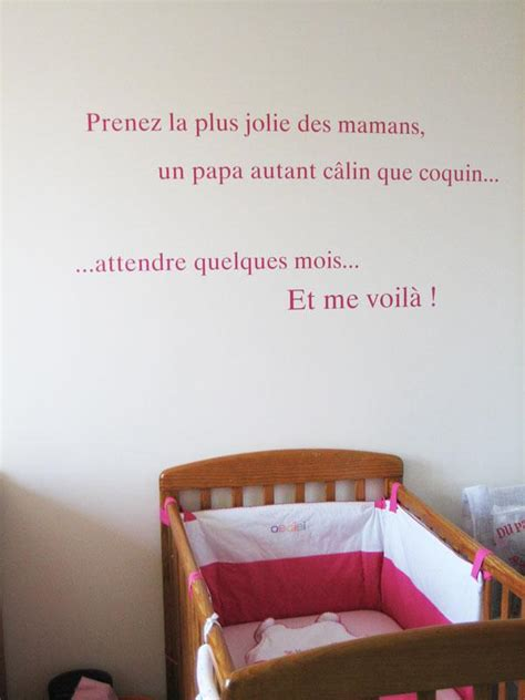 stickers phrase chambre stickers chambre bebe fille trendyyy com