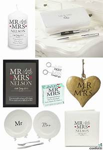 Mr and mrs wedding gifts confetticouk for Mr and mrs wedding gifts