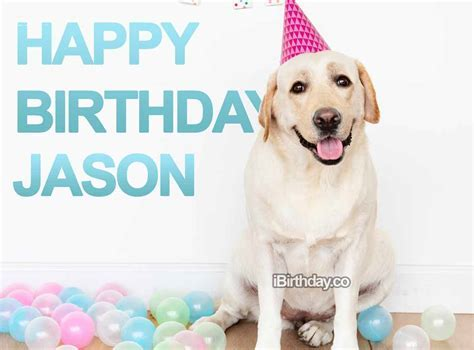 Jason Dog Birthday Wish   Happy Birthday