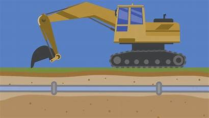 Water Digging Break Mains Equipment Why Pipe