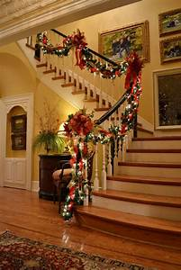19, Stunning, Christmas, Staircase, Decorations