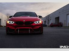 Photoshoot This Matte Red BMW M4 Is A Thing Of Beauty