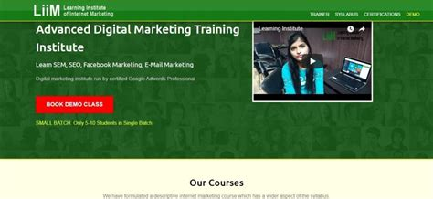 list of marketing courses top 10 digital marketing institutes in lucknow