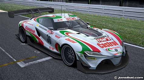 This Is A Toyota Ft1 Racing Car  Top Gear