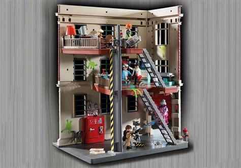 Egon And Janine Ghostbusters Feuerwache 9219 Playmobil Deutschland