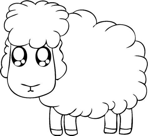sheep color page animal coloring pages color plate
