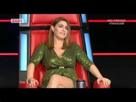 Η έλενα παπαρίζου εμφανίστηκε ως guest star, στο πλαίσιο ενός ειδικού interval act με τίτλο rock on the roof, όπου παλαιότεροι νικητές της eurovision ερμήνευσαν ξανά τα τραγούδια τους. Παπαριζου knockouts - YouTube