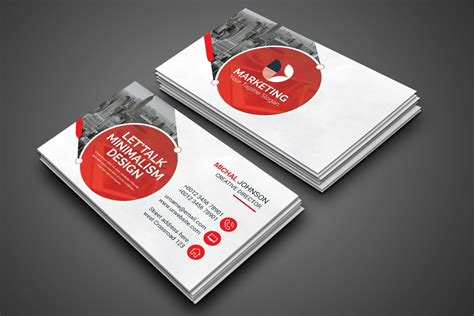 psd marketing business card graphic prime graphic