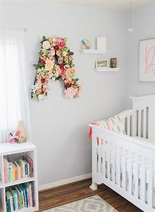 Best 25 flower letters ideas on pinterest letter for Baby nursery letters