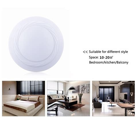24w dimmable led ceiling light flush mount kitchen