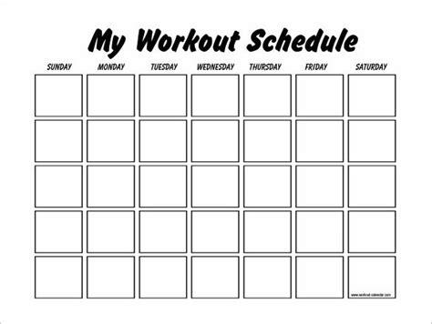 PDF, Docs   Free & Premium Templates   Workout calendar ...