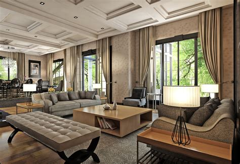 home interior styles three contrasting home designs