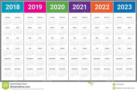 year calendar vector stock vector