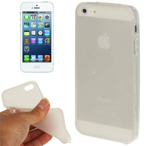 iphone 5 5s coque housse de protection silicone gel