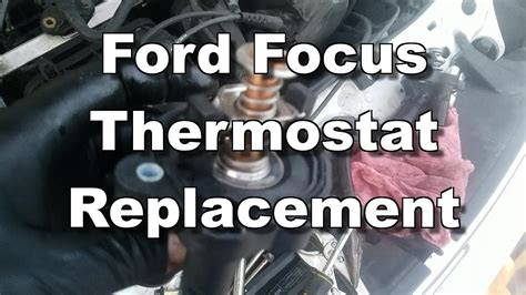 replace thermostat    ford ranger