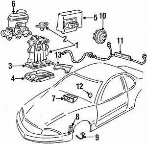 Oldsmobile Achieva Abs Wheel Speed Sensor Wiring Harness