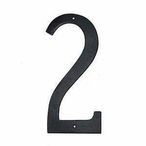 montague metal products 10 in standard house number 2 With house numbers and letters home depot