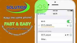 No Internet Connection/Blocked IP Address (iPhone Wi-Fi ...