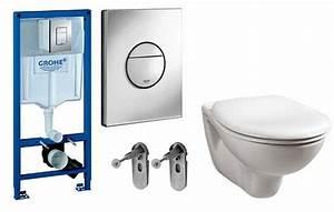 Toilettes Suspendues Grohe : grohe rapid sl toilet cistern frame plate pan ebay ~ Nature-et-papiers.com Idées de Décoration