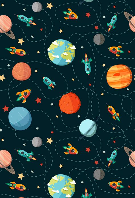 huayi xft vertical  universe space backdrop art