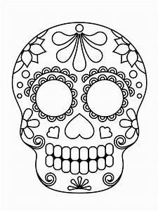 Crane Mexicain Dessin : coloriage tete de mort mexicaine a imprimer gratuit beau coloriage imprimer tete de mort frais ~ Melissatoandfro.com Idées de Décoration